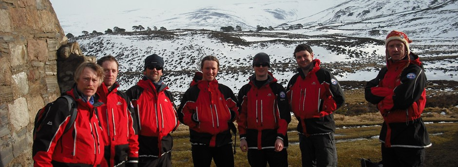 Annual winter training in Scotland